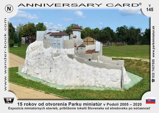 Podolie Park miniatur 15 vyrocie