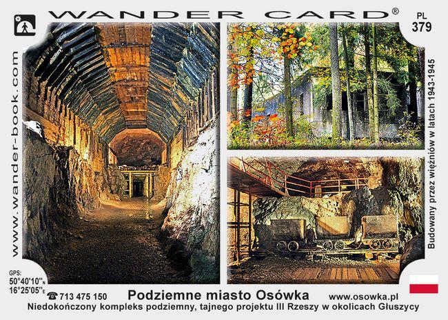 Podziemne miasto Osówka