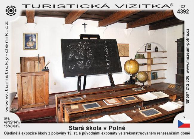 Stará škola v Polné