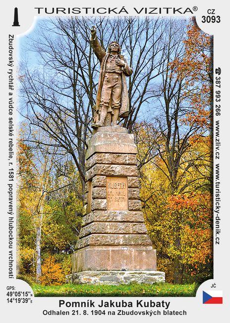 Pomník Jakuba Kubaty
