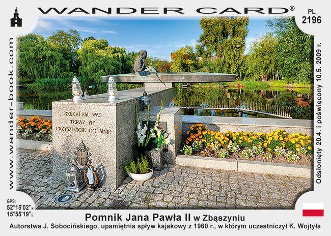 Pomnik Jana Pawła II w Zbąszyniu