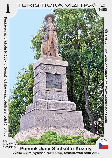 Pomník Jana Sladkého Koziny