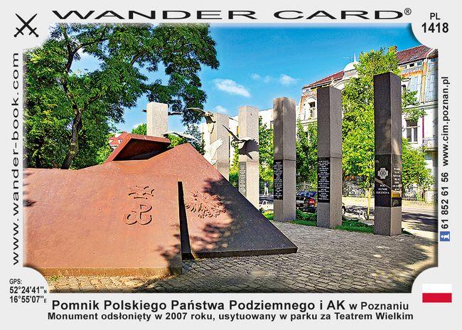 Pomnik PPP i AK w Poznaniu