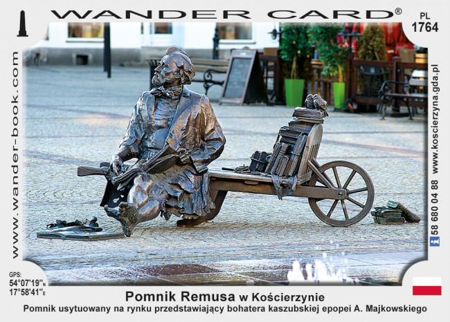 Pomnik Remusa w Kościerzynie