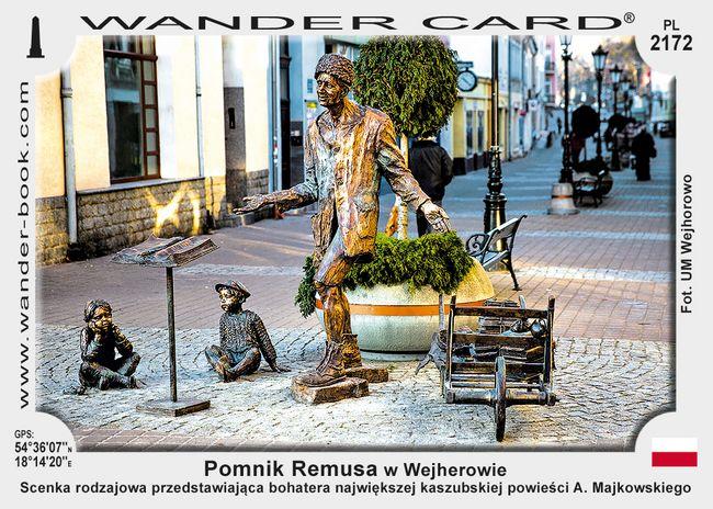 Pomnik Remusa w Wejherowie