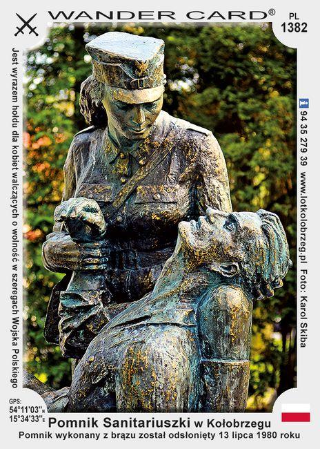 Pomnik Sanitariuszki w Kołobrzegu