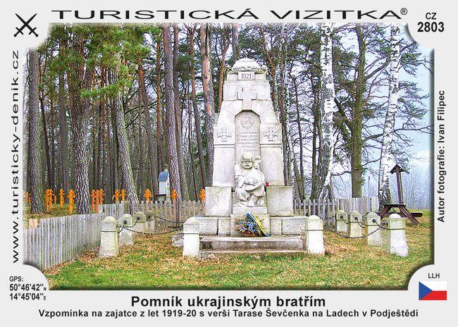 Pomník ukrajinským bratřím