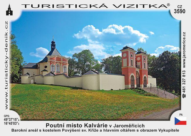 Poutní místo Kalvárie v Jaroměřicích