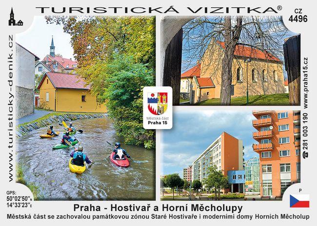 Praha Hostivař Horní Měcholupy