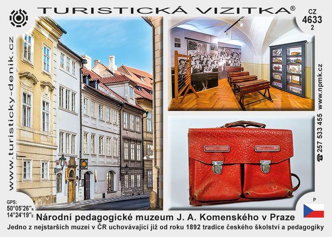 Praha pedagogické muzeum