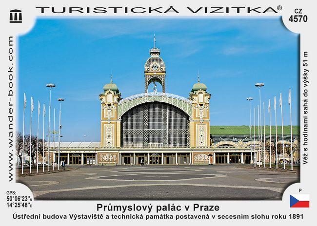 Praha Průmyslový palác