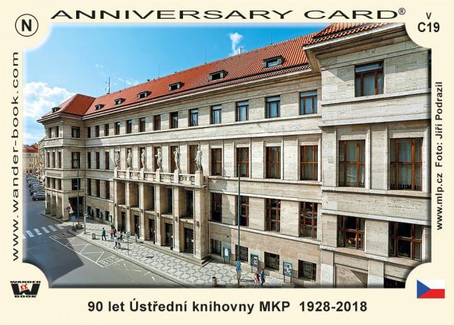 Praha Ústřední knihovna 90 let