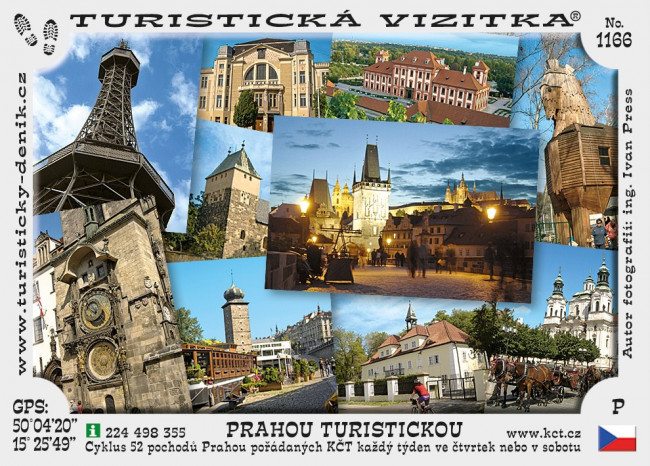 Prahou turistickou (1-12)