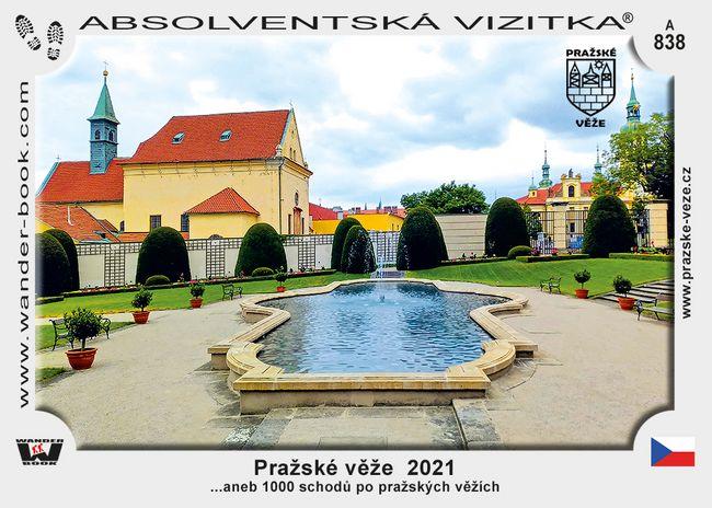 Pražské věže  2021