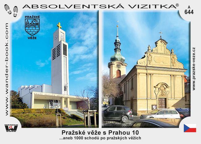 Pražské věže s Prahou 10