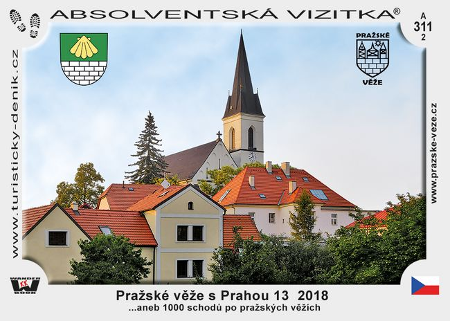 Pražské věže s Prahou 13