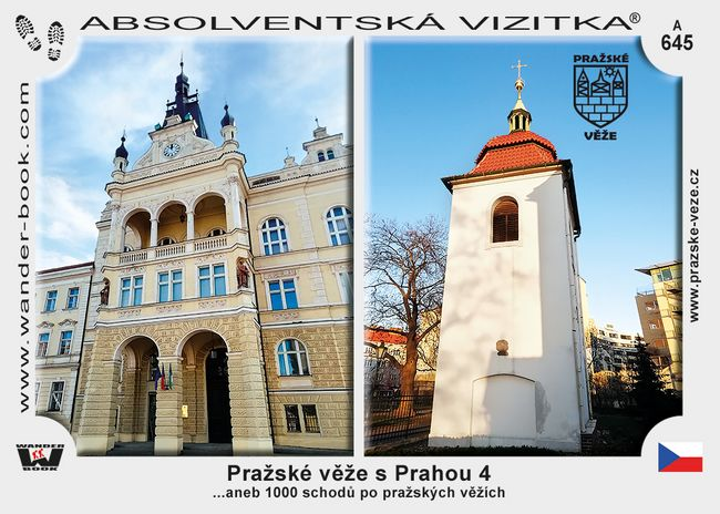Pražské věže s Prahou 4