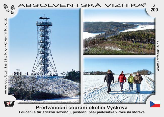Předvánoční courání okolím Vyškova (prosinec)