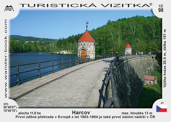 Přehrada Harcov