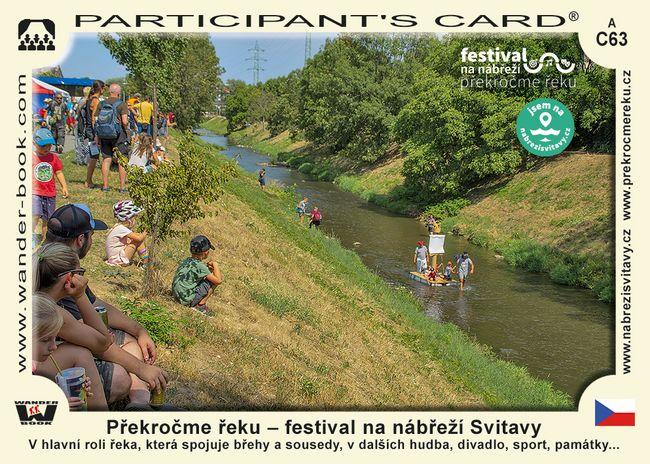 Překročme řeku – festival na nábřeží Svitavy