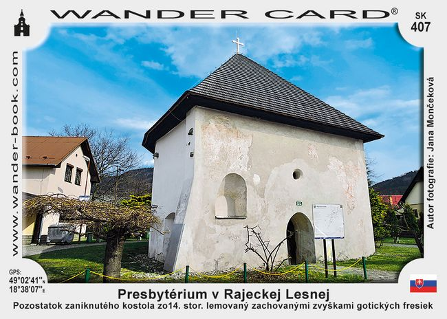 Presbytérium v Rajeckej Lesnej