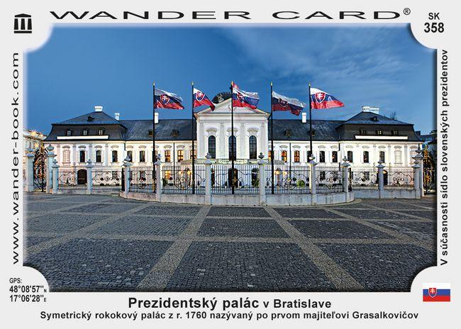 Prezidentský palác v Bratislave