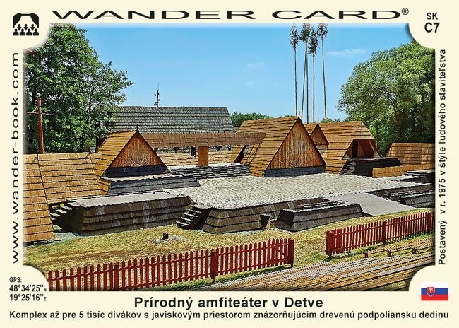 Prírodný amfiteáter v Detve