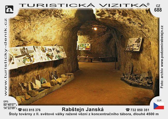 Rabštejnské podzemí Janská