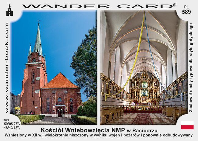 Racibórz kościół WNMP