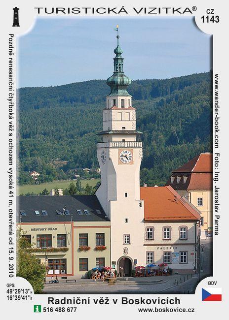 Radniční věž v Boskovicích