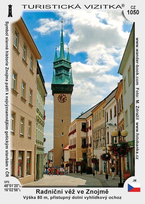 Radniční věž ve Znojmě