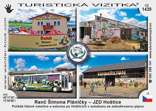 Ranč Šimona Pláničky - JZD Hoštice