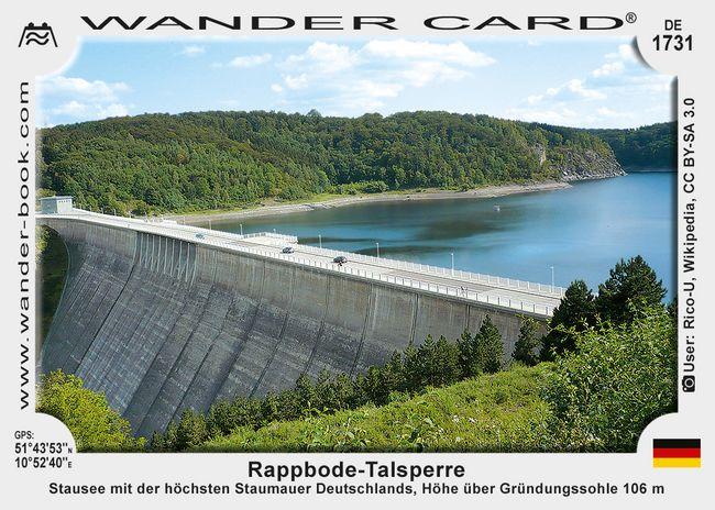 Rappbode-Talsperre