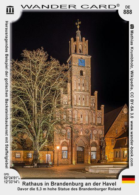 Rathaus in Brandenburg an der Havel