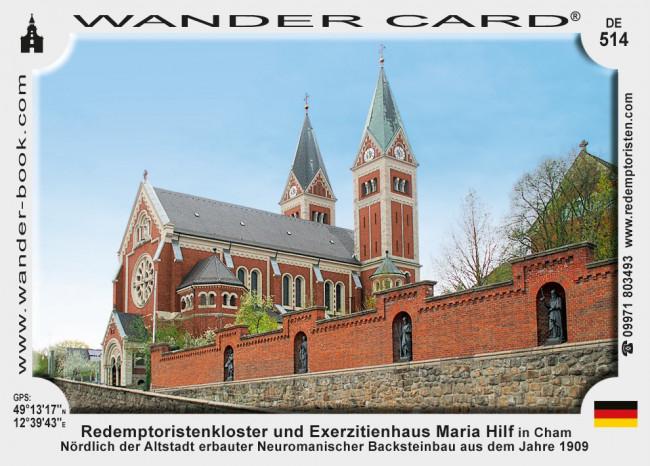 Redemptoristenkloster und Exerzitienhaus Maria Hilf in Cham