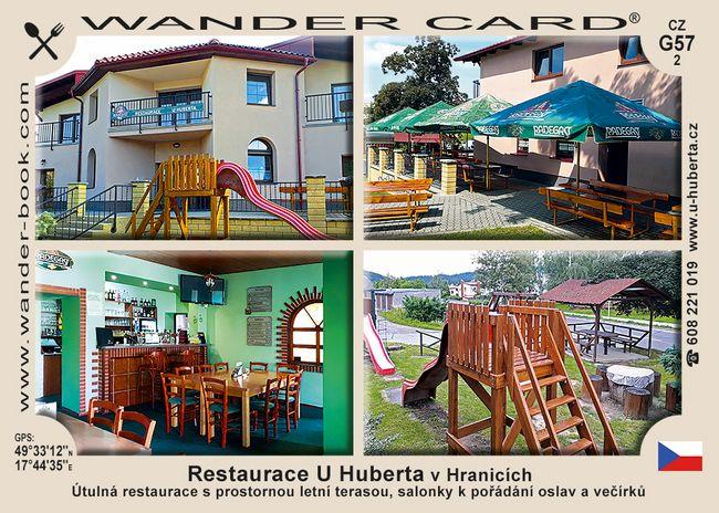 Restaurace U Huberta v Hranicích