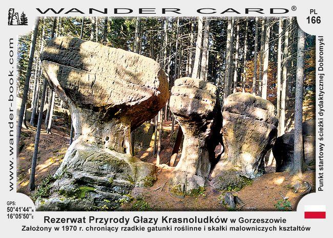 Rezerwat Przyrody Głazy Krasnoludków w Gorzeszowie