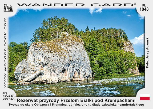 Rezerwat przyrody Przełom Białki pod Krempachami