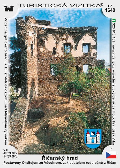 Říčanský hrad