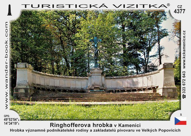 Ringhofferova hrobka v Kamenici