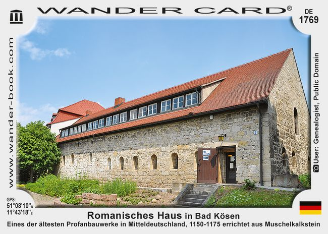 Romanisches Haus in Bad Kösen