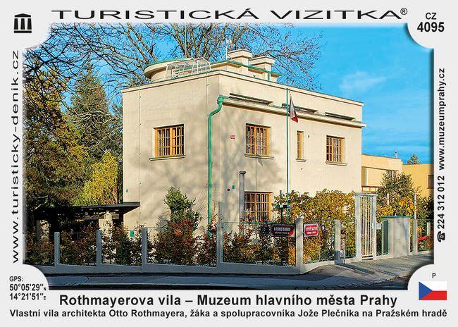 Rothmayerova vila – Muzeum hlavního města Prahy