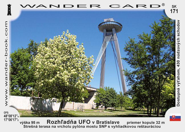 Rozhľadňa UFO v Bratislave