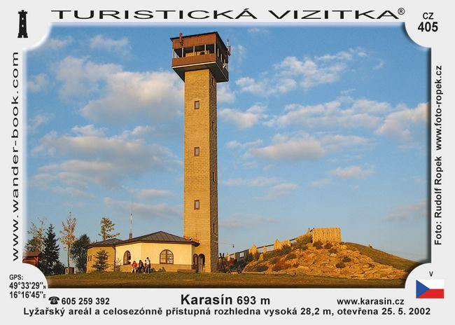 Rozhledna Karasín