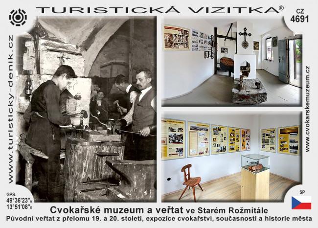 Cvokařské muzeum a veřtat ve Starém Rožmitále