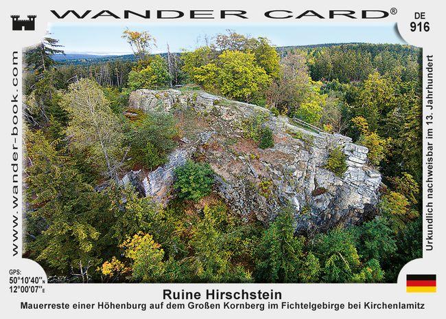 Ruine Hirschstein
