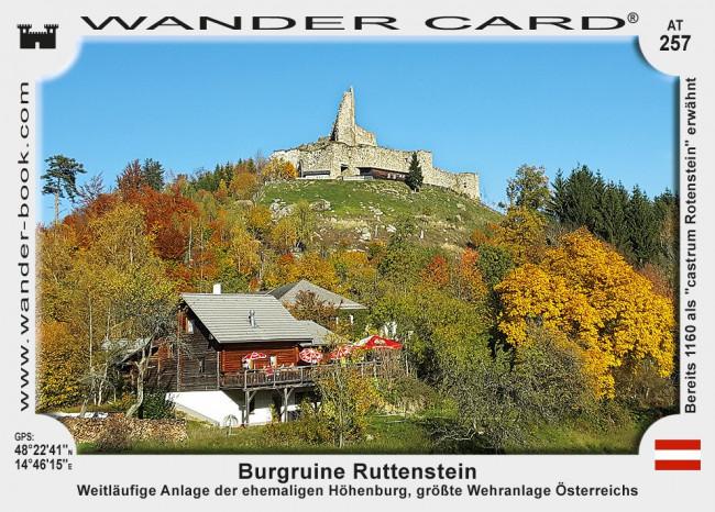 Ruttenstein Burgruine