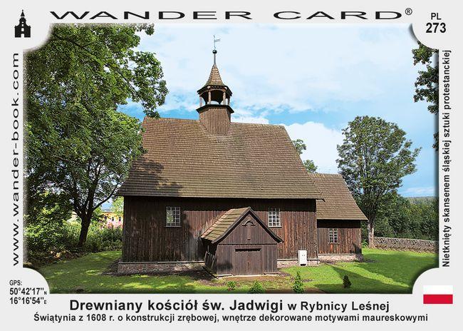 Rybnica Leśna kościół św Jadwigi