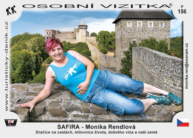 SAFIRA - Monika Rendlová