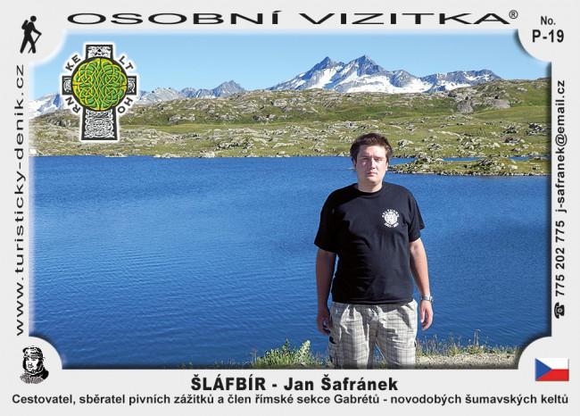Jan Šafránek – ŠLÁFBÍR